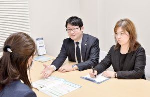 札幌会社設立&許認可取得 相談風景